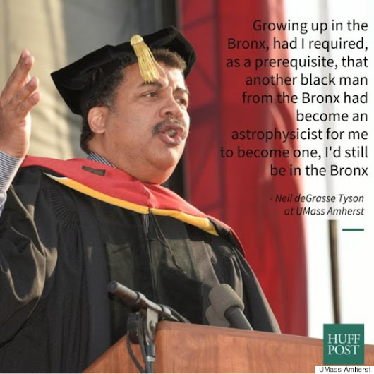 Neil deGrasse Tyson Tells Grads 'Role Models Are Overrated'