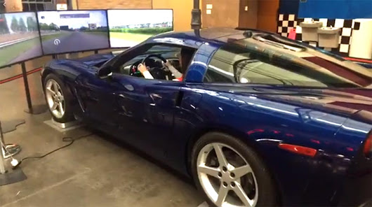 [VIDEO] The National Corvette Museum Shows Off Its New Corvette Racing Simulator - Corvette: Sales, News & Lifestyle