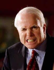 McCain grimace