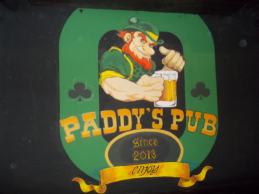 Why Irish themed bars are always shite