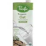 Pacific Natural Foods Organic Oat Milk, Original - 32 fl oz carton