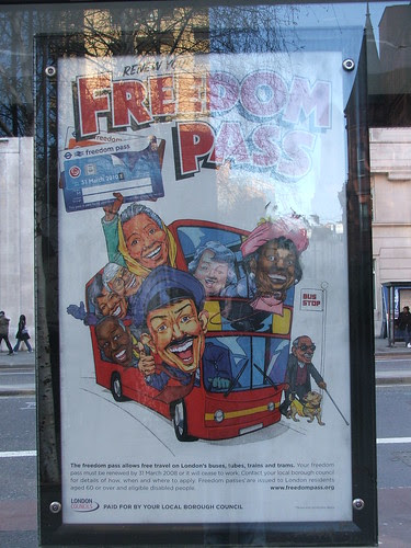 Freedom Pass EC1 by Malcolm Edwards