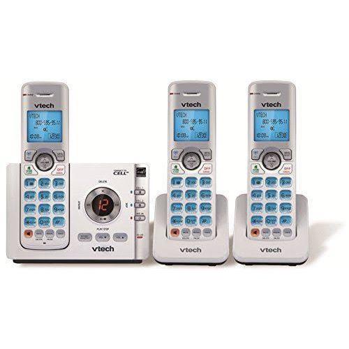 VTech DS6722 3 DECT 60 Handset Cordless Phone W Digital Answering