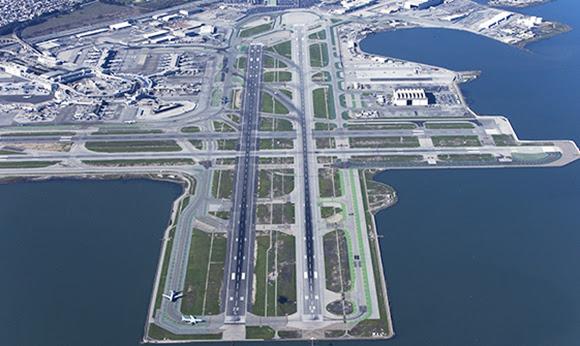 San Francisco Airport runway