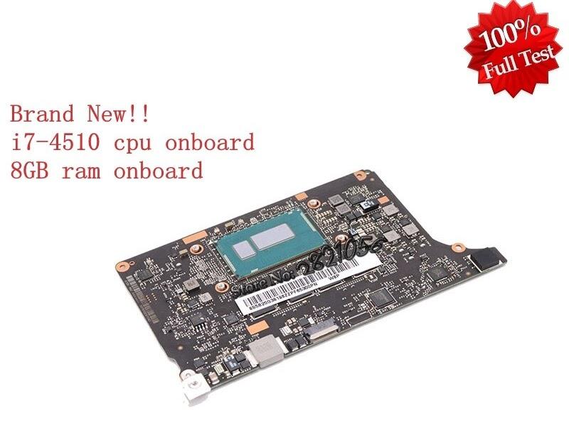 For Lenovo Yoga 2 Pro Motherboard VIUU3 NM-A074 I7-4510U SR1EB 8GB 5B20G38213