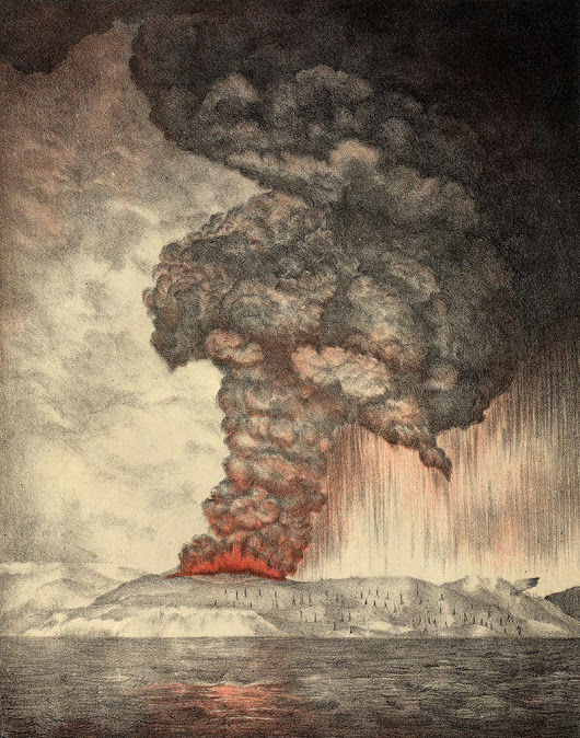 Landmark Events — The Eruption of Krakatoa, 1883