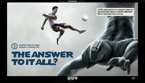 Adidas Teamgeist - Titlescreen 3rd game Navigation (screenshot)