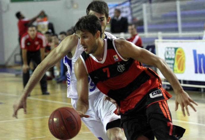 Laprovittola basquete Flamengo x Uberlândia (Foto: Orlando Bento / Divulgação)