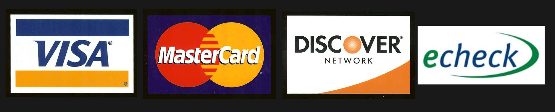 all credit cards accepted logo. All major credit cards are