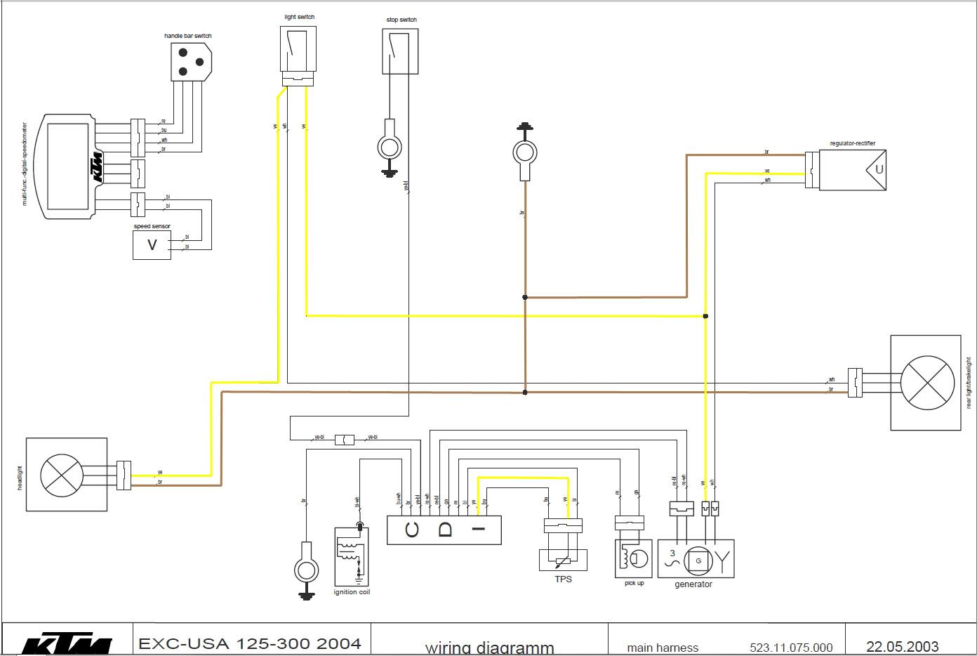 Ktm Headlight Wiring Diagram Wiring Diagram Seem Class Seem Class Saleebalocchi It