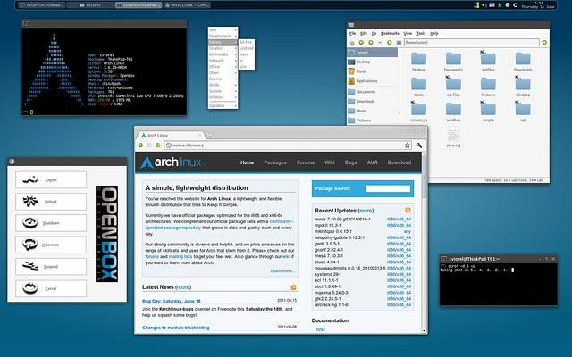 pcman, file manager, linux