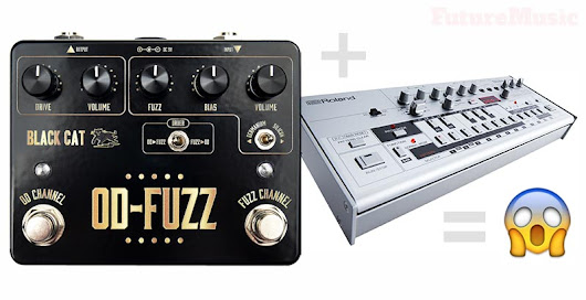 Black Cat Debuts OD-Fuzz Deluxe Edition | FutureMusic the latest news on future music technology DJ gear producing dance music edm and everything electronic