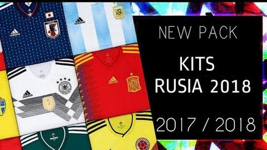 نتيجة بحث الصور عن PES 2013 | New Pack • Kits Mundial Rusia 2018 • 2017 / 2018 • Nuevo • HD