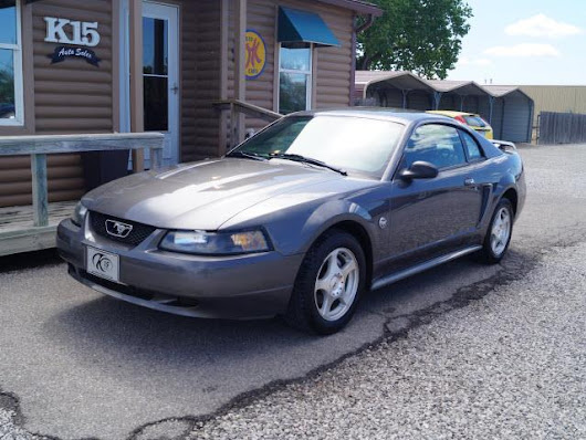 Used 2004 Ford Mustang Premium Coupe for Sale in Derby KS 67037 K-15 Auto Sales