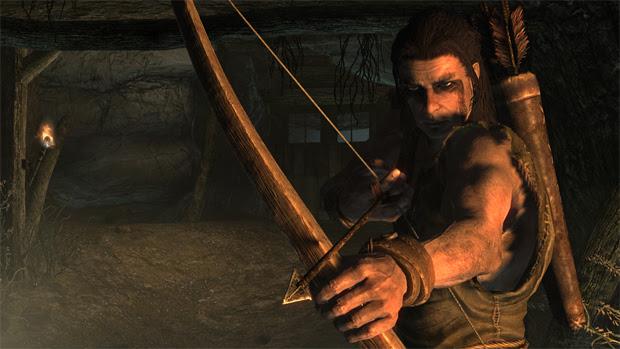 Arco e flecha e um ótimo tipo de armamento (Foto: Divulgação)