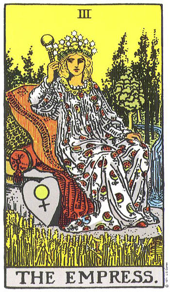 Image result for THE EMPRESS TAROT