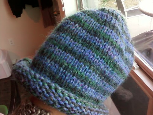 Non fuzzy pic of Ian's Emergency hat