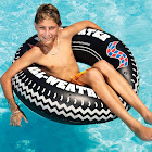 Swimline Monster Tire Ring Inflatable Pool Float