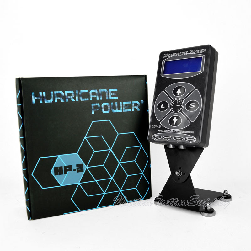 Hurricane Digital Tattoo Machine Power