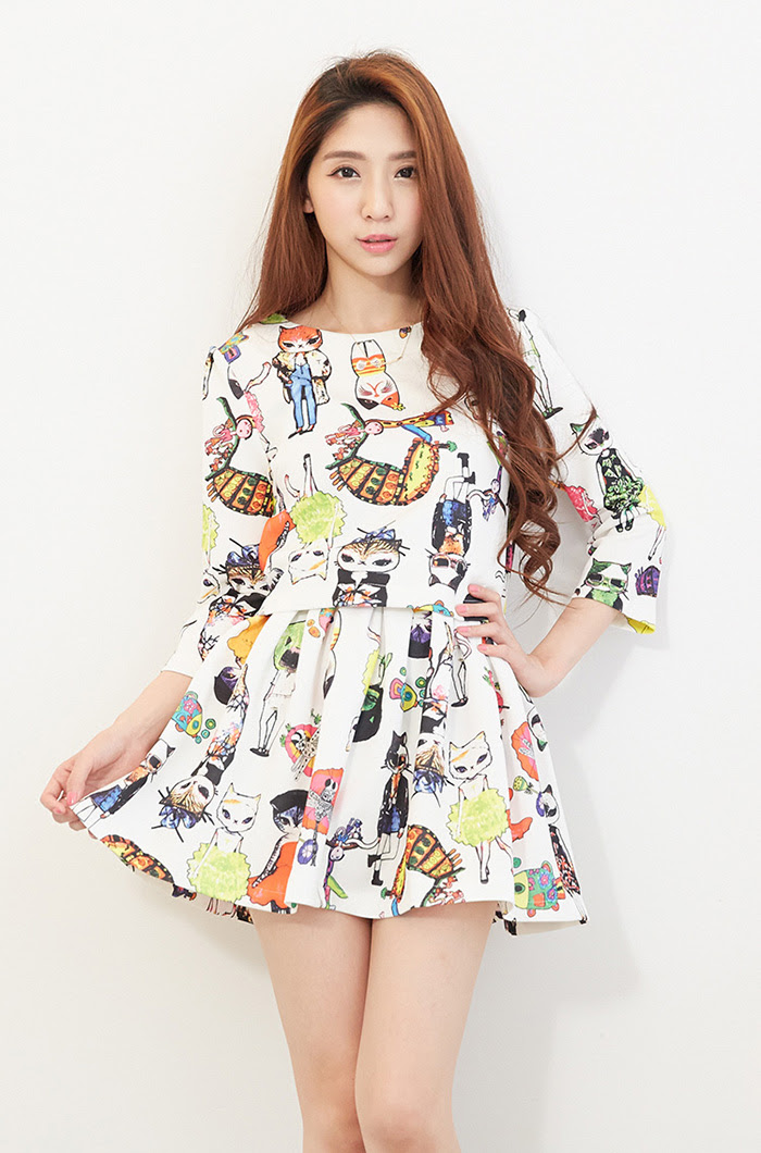 Model Baju Dress Korea Trend Masa Kini Toko Jual Baju