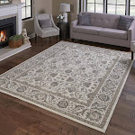 """Thomasville Timeless Classic Rug Collection, Alden Ivory, 5'3"""" x 7'5"""""""