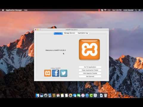 XAMPP Installation and Virtual Host Configuration in MAC OS