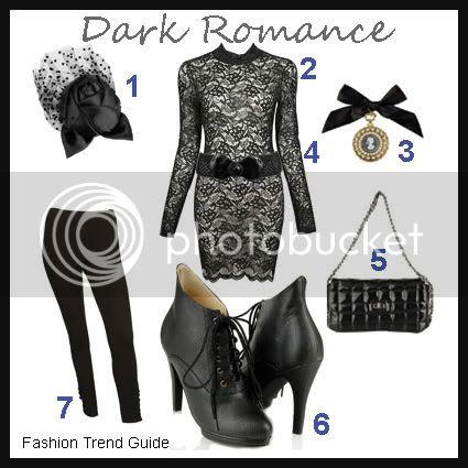 dark romance fashion trend