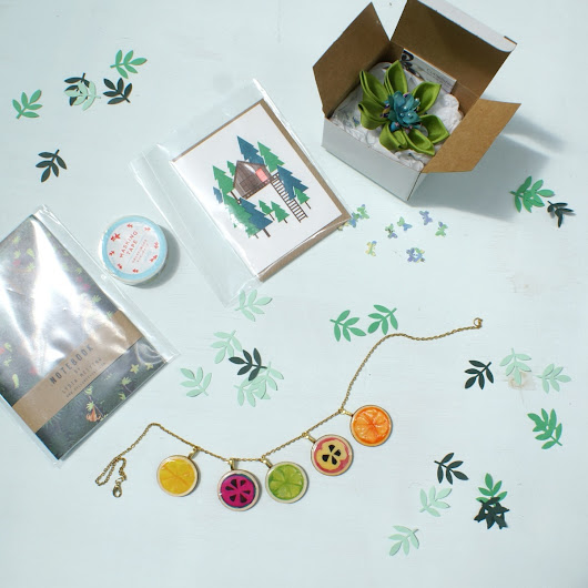 Swapping Gifts with Oh Comely's Perfect Strangers Project
