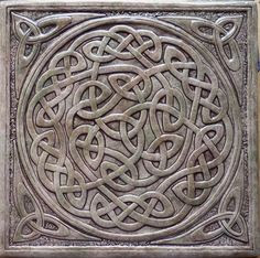 Celtic knot - Celtic knots have no beginning or end, reminding of the timeless nature of our spirit.