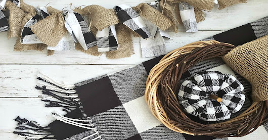 These Buffalo Check Plaid Decor Ideas will inspire you to decorate your home with the popular buffalo check decor.