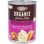 Castor & Pollux Organix Butcher & Bushel Dog Food Carved Turkey Dinner 12.7 oz.