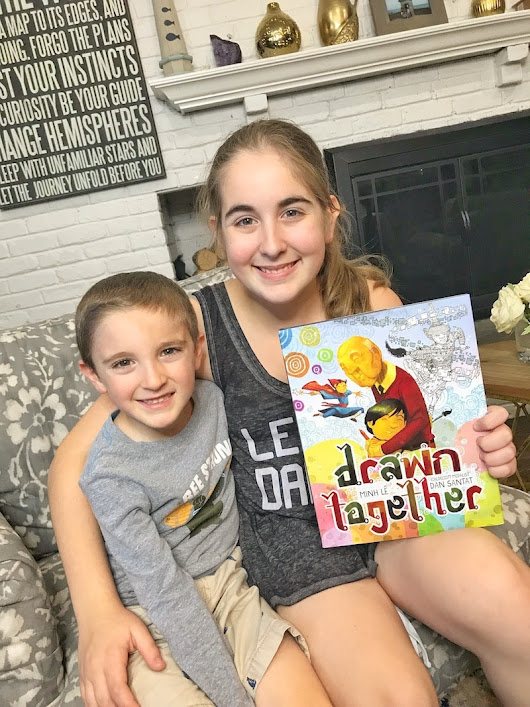 Story Time is the Best Time with Books Like Drawn Together (giveaway)