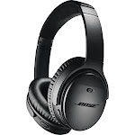 Bose QuietComfort 35 II Wireless Noise-Canceling Black Headphones