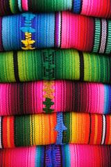 Panajachel - Lago de Atitlán: traditional colo...