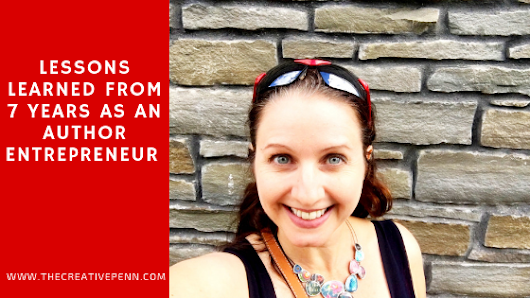 Lessons Learned From 7 Years As An Author Entrepreneur | The Creative Penn
