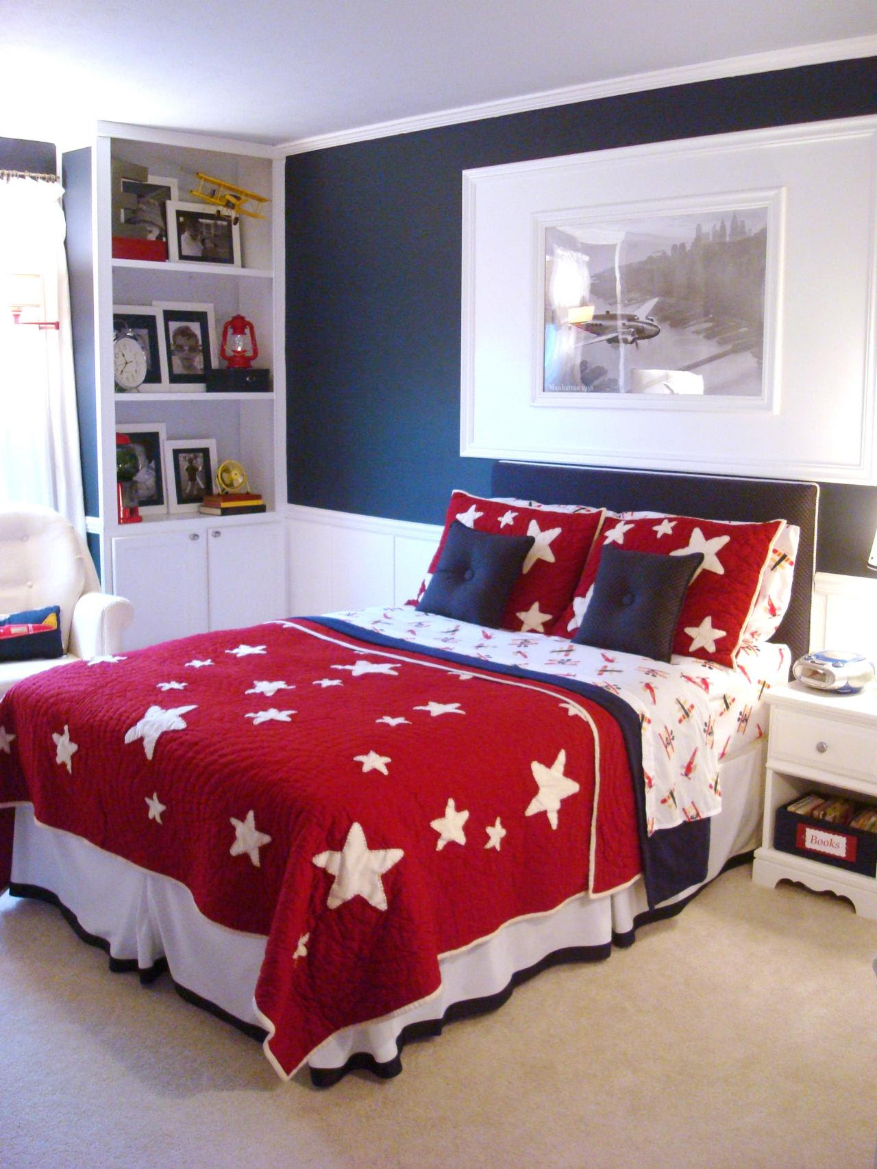 Bedroom Decorating Ideas In Blue Bedroom Decorating