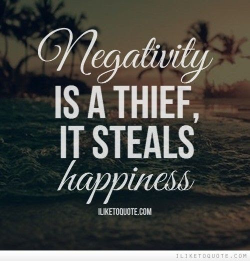 Negativity - How do you keep it at bay? #AtoZChallenge