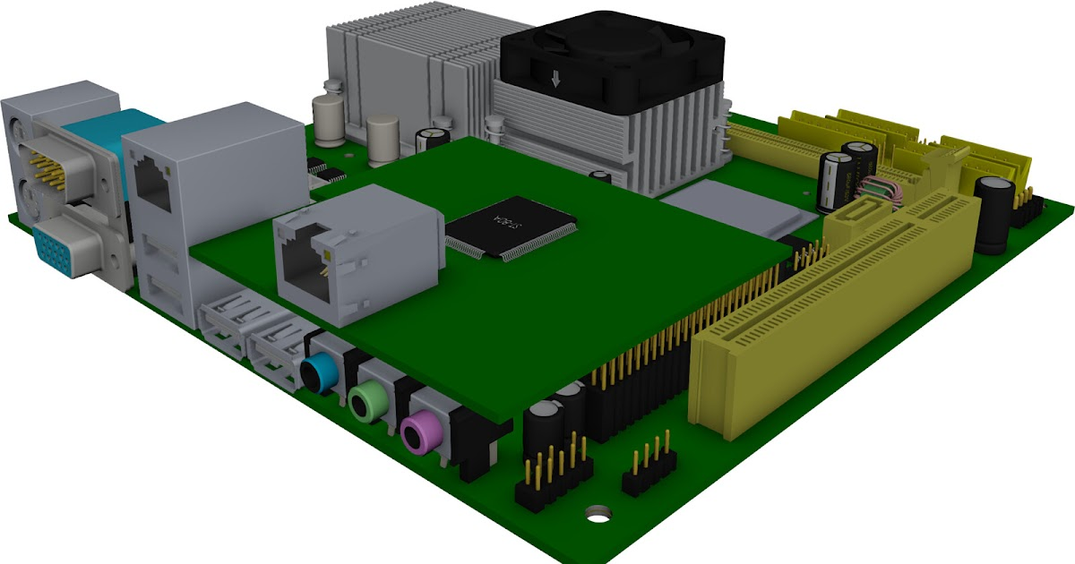 69 Cad Model Motherboard Download