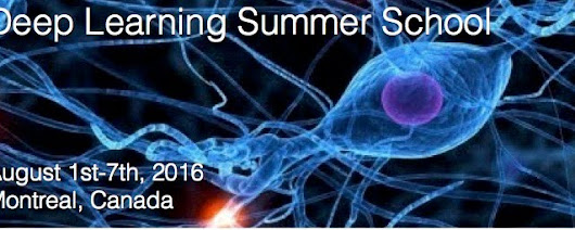 Deep Learning Summer School 2016