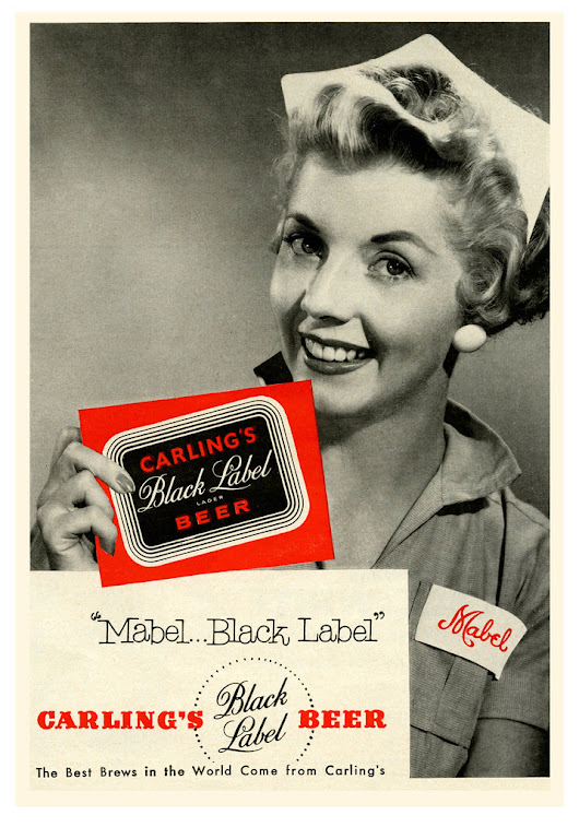 Beer In Ads #1611: Mabel ... Black Label - Brookston Beer Bulletin