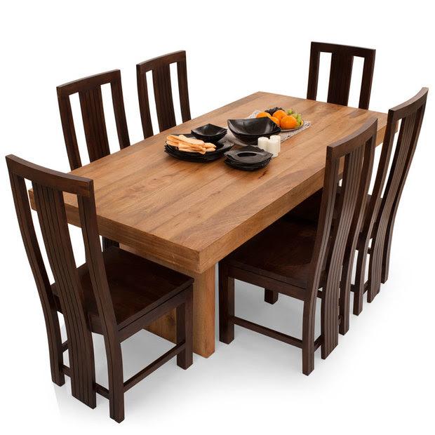 JordanCapra 6 Seater Dining Table Set  TheArmchair