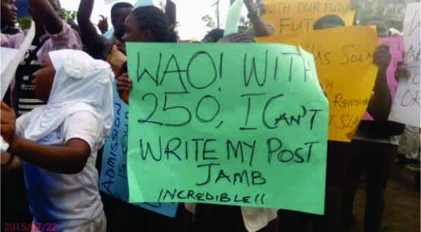 JAMB Explains Admission Procedure To Protesting Candidates & Parents