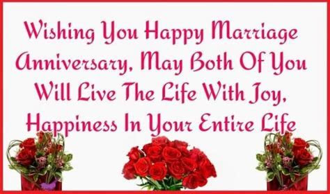 Wedding Anniversary Quotes Uncle Aunty Fresh Best Message