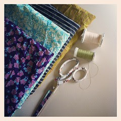 Skirt sewing time:)