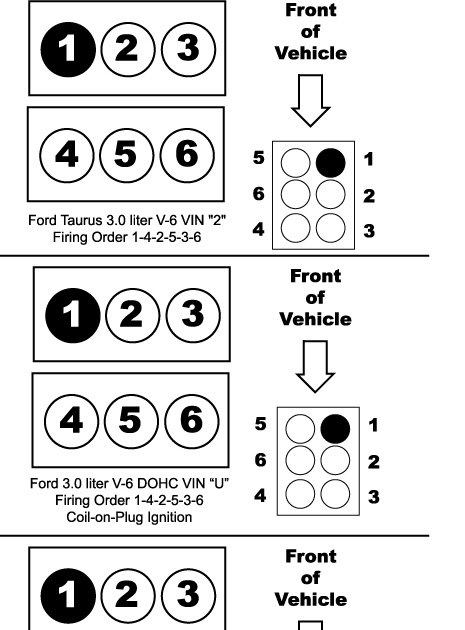 2009 Ford Escape 30 Firing Order Diagram