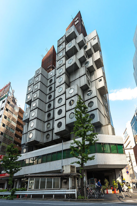 Surveying the failure of utopian ideals in Tokyo's Nakagin Capsule Tower | News | Archinect