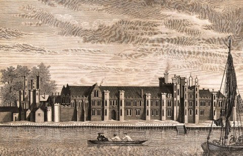 The Palace of Placentia during Tudor Times