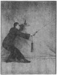 《昆吾劍譜》 李凌霄 (1935) - posture 42