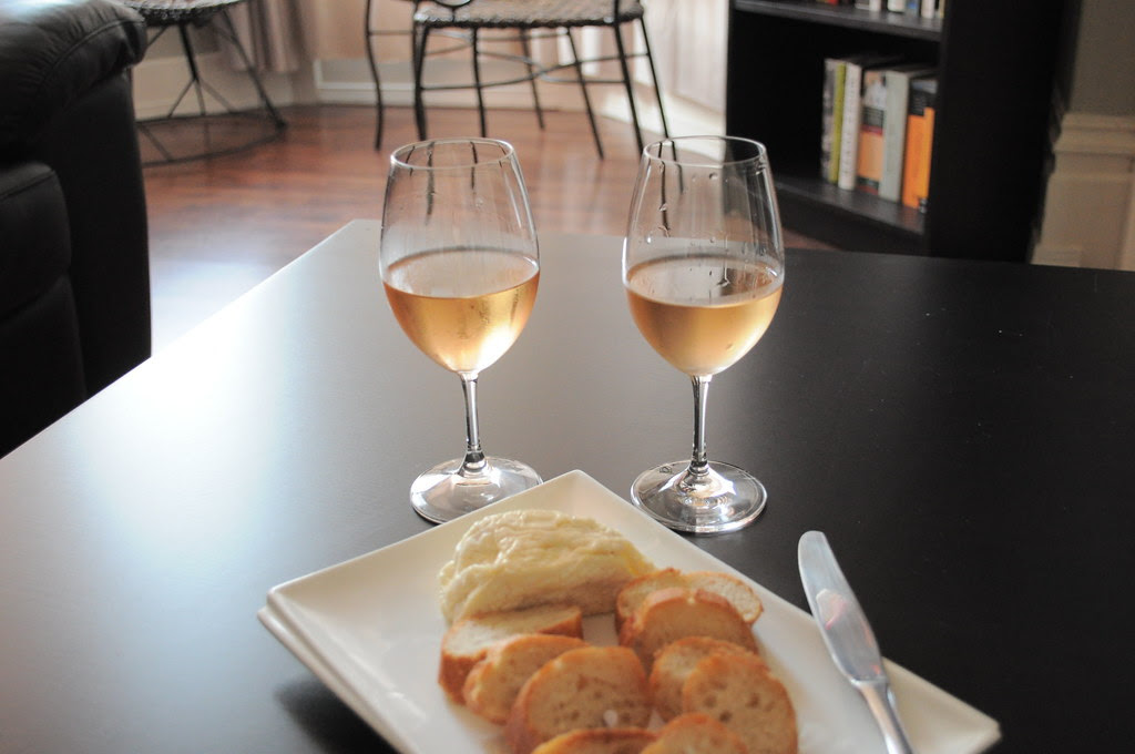 cheese and rosé