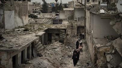 Террористы совершили девять обстрелов в идлибской зоне деэскалации в Сирии